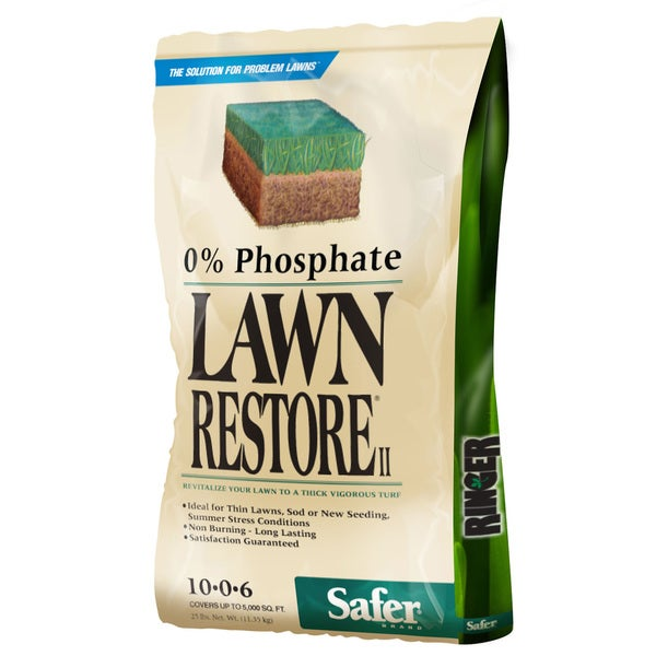 Ringer Woodstream 9333 25 Lb Ringer Lawn Restore II Fertilizer