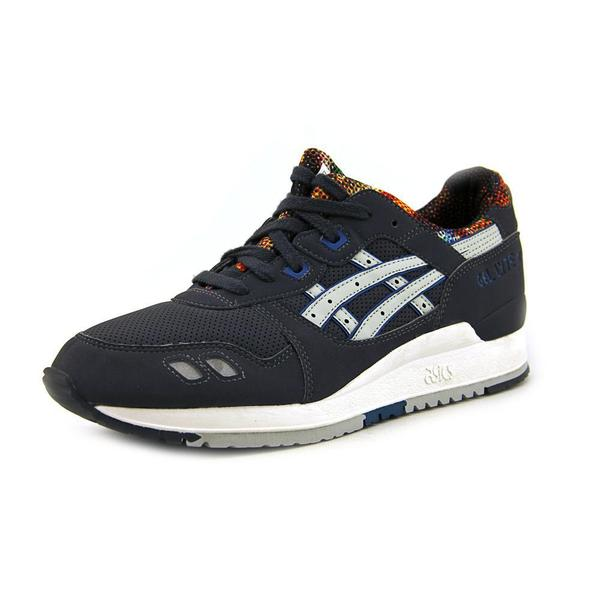 Asics Women's Gel-Lyte III Grey Suede Athletic Shoes