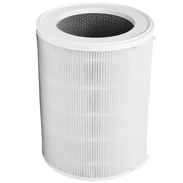 WINIX - Tower Air Purifier - Black/White NK100
