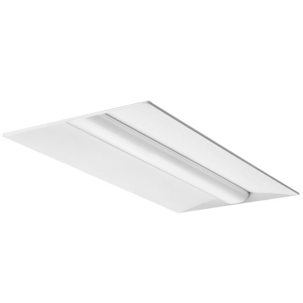 Lithonia Lighting White Metal Low-profile Recessed LED Luminaire