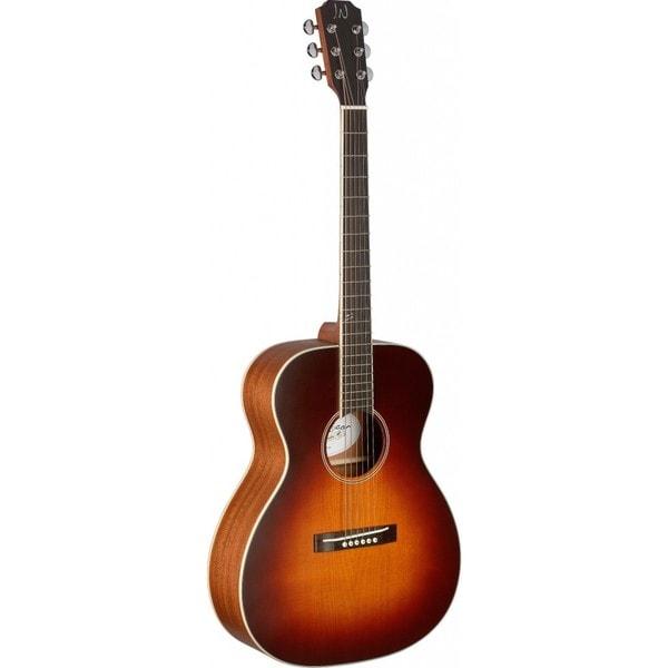 James Neligan EZR-OM Ezra Series Sunburst Orchestra Acoustic Guitar