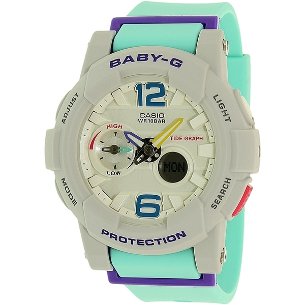 Casio Baby-G Grey Resin Quartz Women's Watch