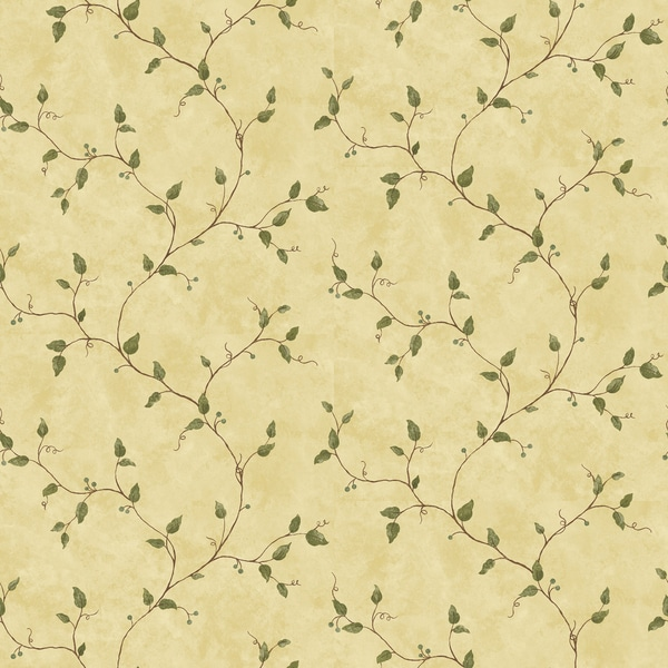 Sage Ivy Trail Wallpaper