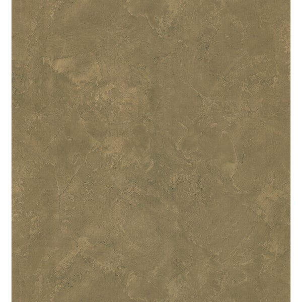Brewster Brown Vinyl Stucco Wallpaper