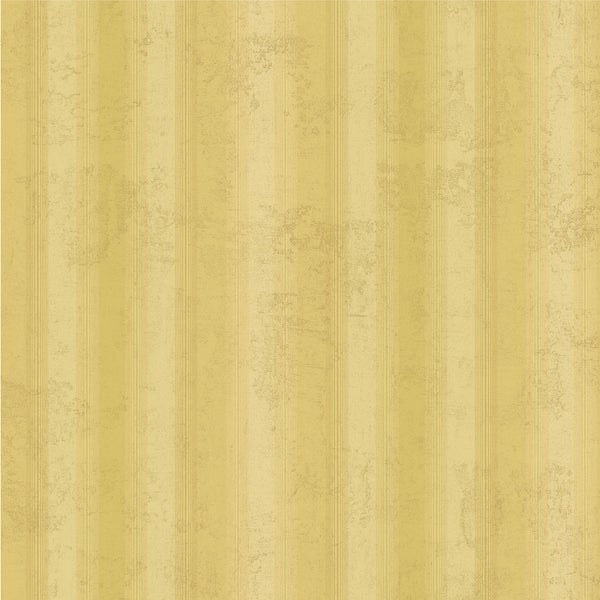 Brewster Gold Stripe Wallpaper