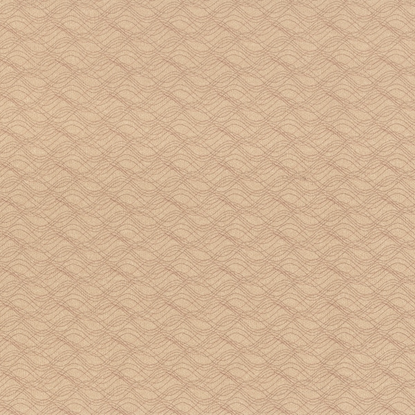 Acoustic Waves Beige Vinyl Texture Wallpaper