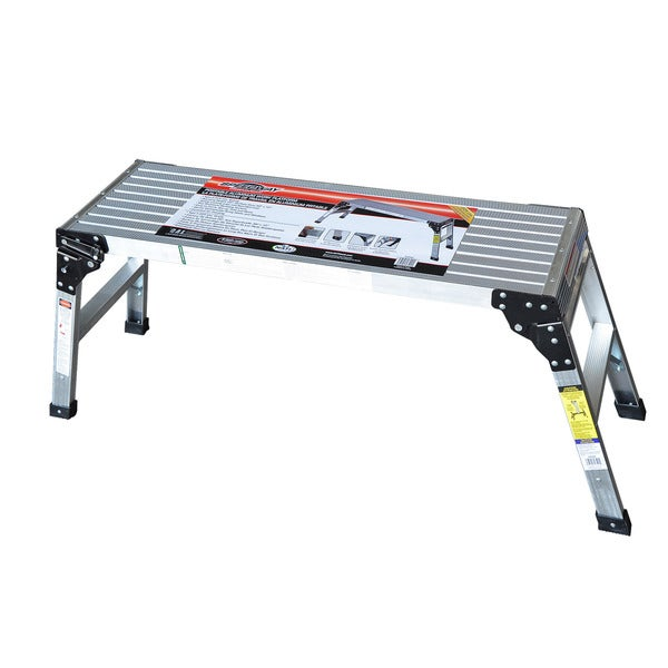Speedway Aluminum Foldable Step-up Work Platform