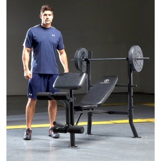 Pure Fitness Fid Weight Bench 15546352 Overstock Com