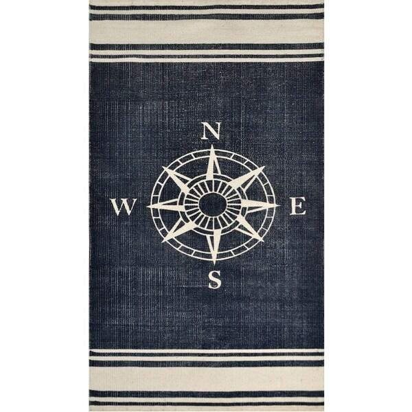 Nautical Cotton Rug (2'3 x 4'6) - 2'3 x 4'6 21545589