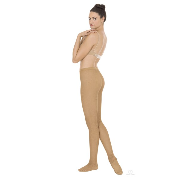 Intimates by EuroSkins Professional Weight Back Seam Fishnet Tights