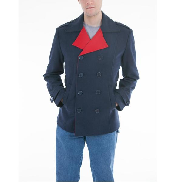 Lee Cobb Wool Blend Pea Coat