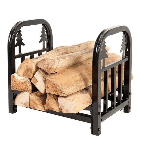 HIO Small Decorative Indoor/Ourdoor 18 Inch Fireside Log Rack