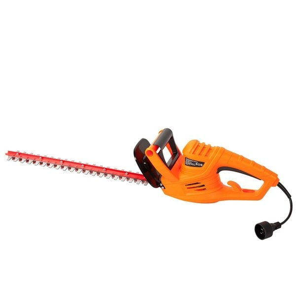 Garcare 4.2-Amp Corded Hedge Trimmer with 18-Inch Blade, Blade Cover Included