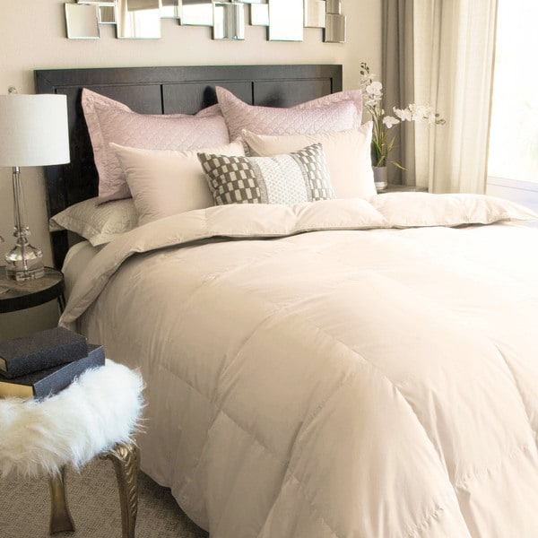 Nikki Chu Soft Clay White Down Comforter