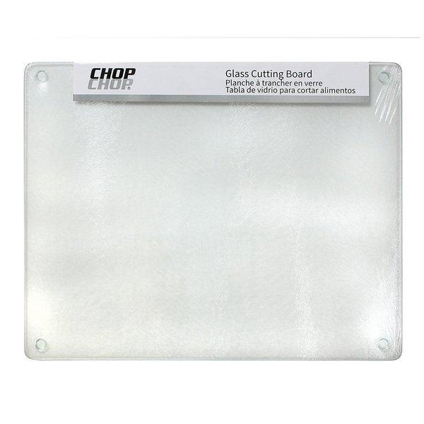 "Chop-Chop Glass Cutting Board / Counter Saver 16""x20"""
