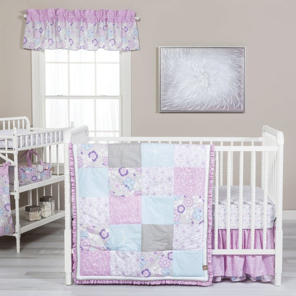 Trend Lab Grace Floral 5-piece Crib Bedding Set 21548554