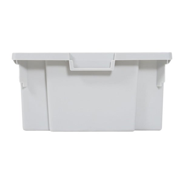 Offex Mobile Large Stackable Storage Bins (Pack of 4)