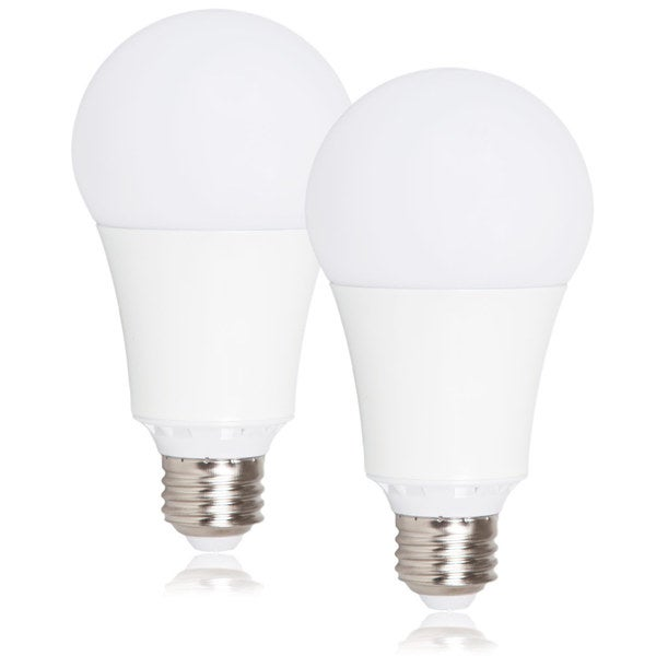 Maxxima Style Dimmable A21 LED Light Bulb 1600 Lumens 15 Watts Warm White (2 Pack)
