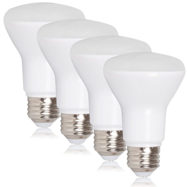 Maxxima Style BR20 LED 7 Watt Warm White 600 Lumens 50 Watt Equivalent (Pack of 4)