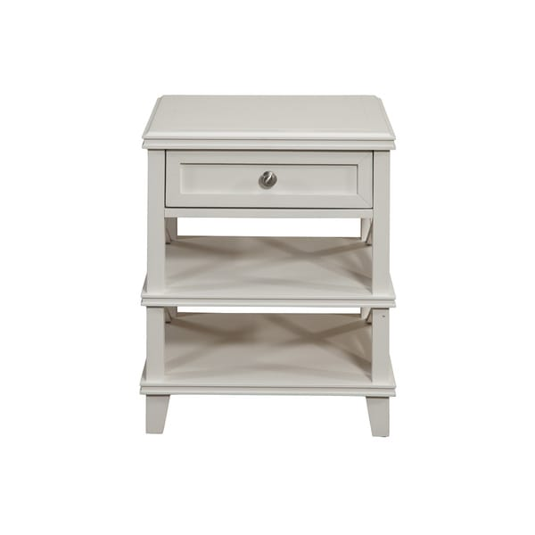Alpine Potter 1 Drawer Nightstand