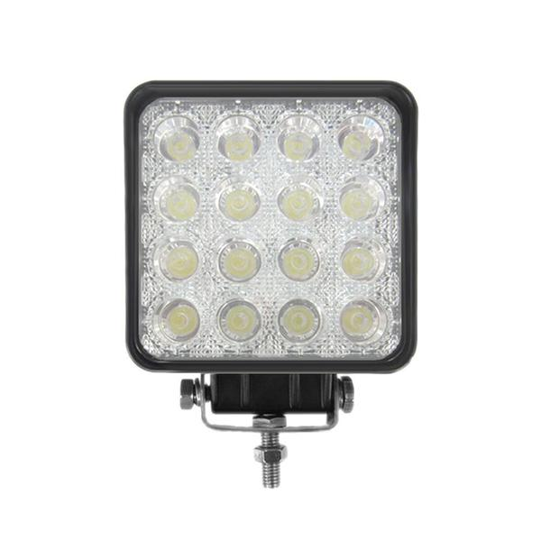Pyle PLEDSQ48 4.2-inch 48-watt Water-resistant Beam Floodlight Lamp 21548996