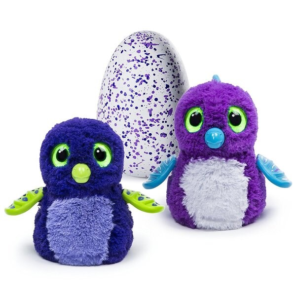 Hatchimals Hatching Egg Draggle by Spin Master - Blue/Purple 21569948
