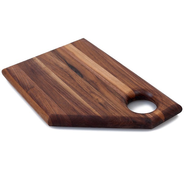 Chop Bloc 'The Abby' Brown Wood Cutting Board
