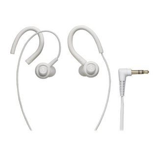 Audio Technica Core Bass In-Ear Headphones (White)