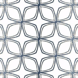 Dudley Geometric Flower 32.7' by 20.5 Wallpaper - 32.7' by 20.5