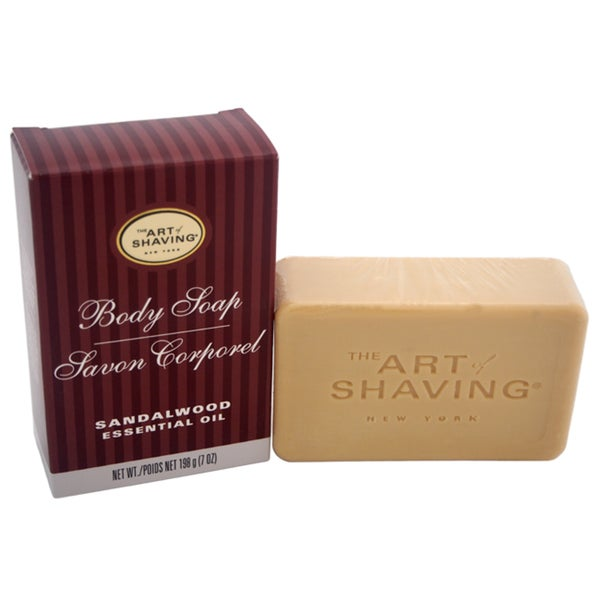 The Art of Shaving Men's 7-ounce Body Soap Sandalwood 21572905