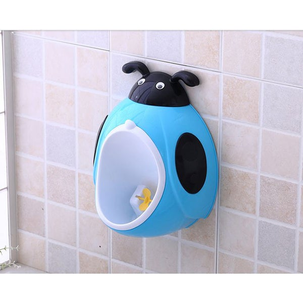 Blue Ladybug Potty Training Urinal