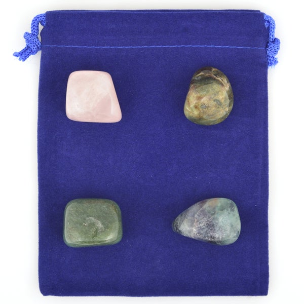 Healing Stones for You Stress Relief Healing Stone Set SRHSA