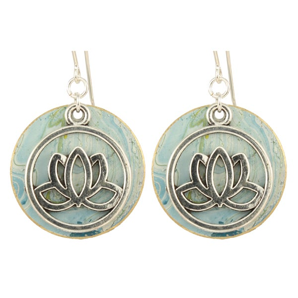 Arden Designs Padmasana Lotus Earrings
