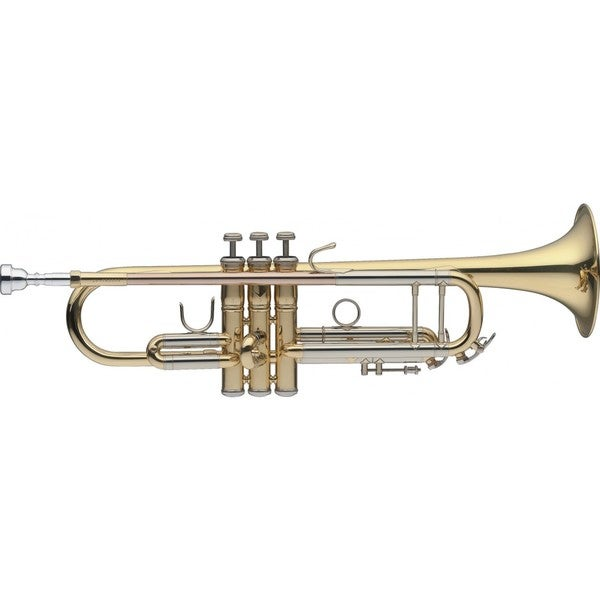 Levante Gold Brass Bb Trumpet with Soft Case