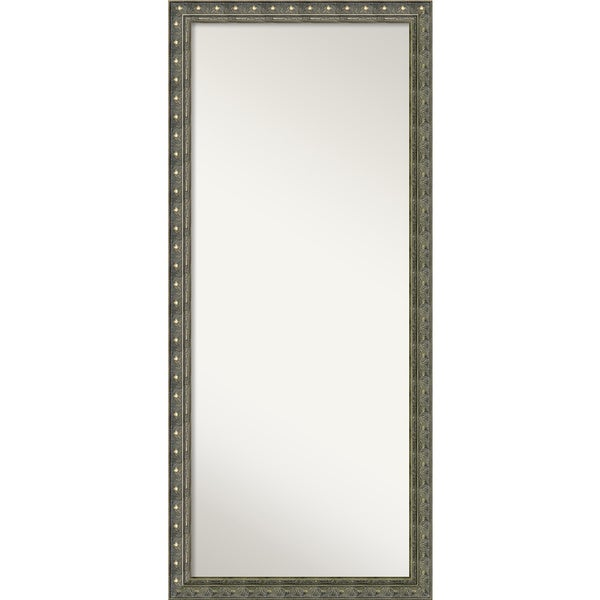 Floor / Leaner Mirror, Barcelona Champagne Wood 28 x 64-inch