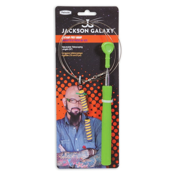 Jackson Galaxy Cat Ground Wand Toy