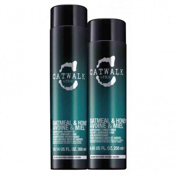 TIGI Catwalk Oatmeal and Honey Shampoo Conditioner Duo