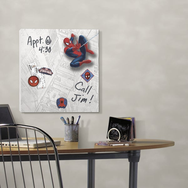 Ultimate Spiderman Canvas Wall Art