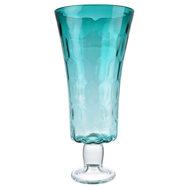 Clear Glass Hurricane Vase