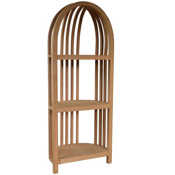 Walnut Wood Cabinet Shelf