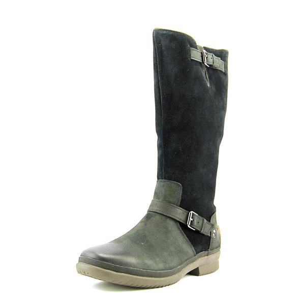 Ugg Australia Women's Thomsen Black Leather Boots
