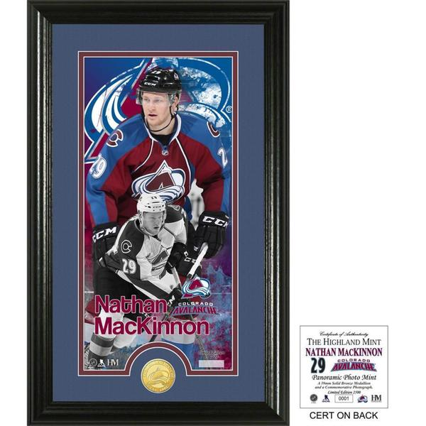 Nathan MacKinnon Supreme Bronze Coin Photo Mint