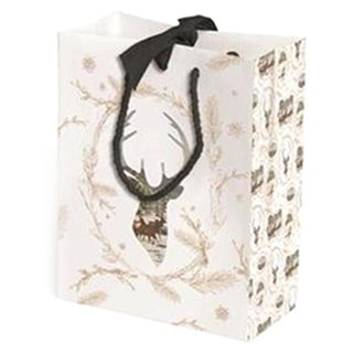 Gold Stag Gift Bag