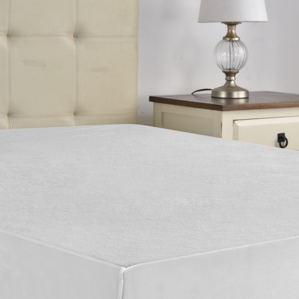 Breathable and Soft Plushed Comfy Bedding Waterproof Mattress Protector