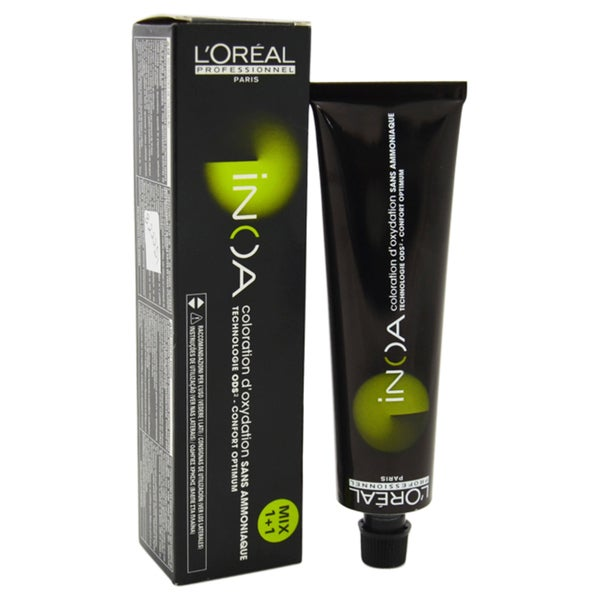 L'Oreal Professional Inoa # 5.60 Intense Light Red Brown Hair Color