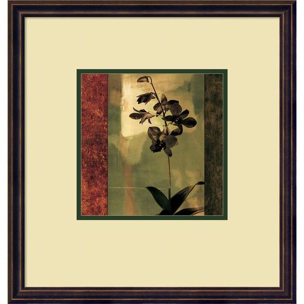 Framed Art Print 'Mesmerized II' by Chris Donovan 19 x 20-inch