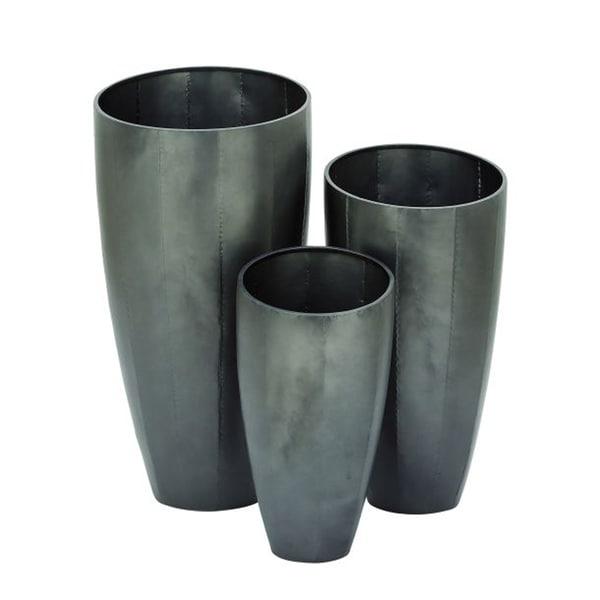 Benzara Exclusive Metal Planter (Pack of 3)