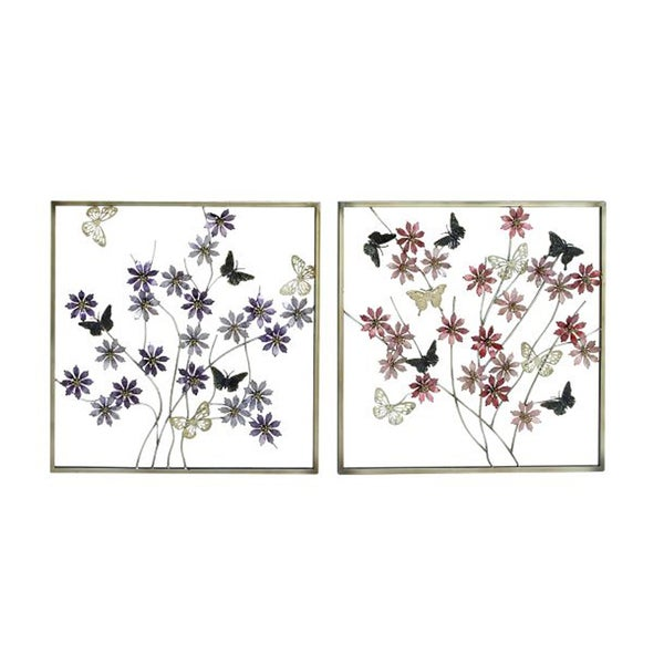 Gorgeous Metal Wall Decor (Assorted 2-pack)