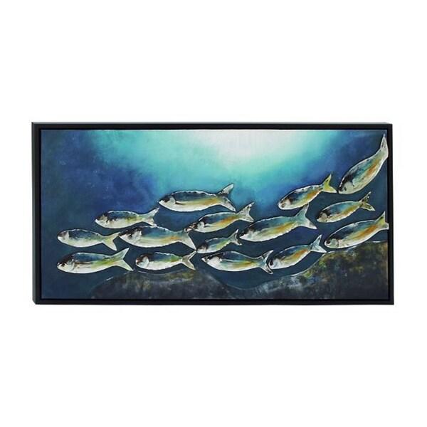 Benzara Nautical Framed Canvas Art