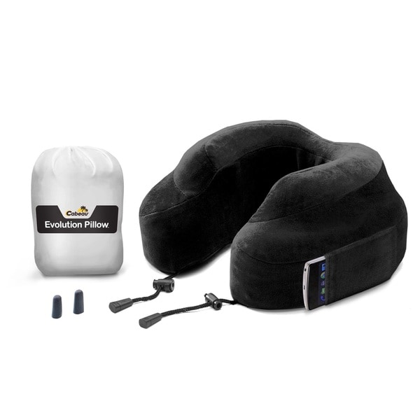 Lewis N Clark Evolution Velour Travel Pillow